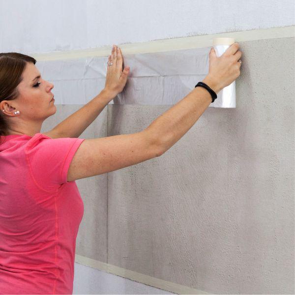 Beton neu interpretiert beton putzspiegel mit eingefasster scheibenstruktur trendfassaden - Klebefolie betonoptik ...