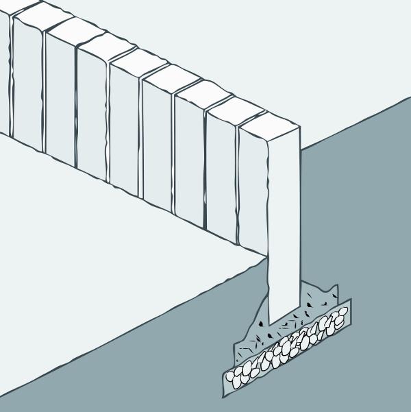 palisaden richtig setzen setzen von palisaden anleitungen planen durchf hren gartenbau. Black Bedroom Furniture Sets. Home Design Ideas