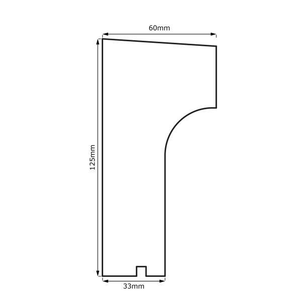 stuck fensterbank und gurtprofil fgp 118 stuck fensterbank und gurtprofile produkte. Black Bedroom Furniture Sets. Home Design Ideas