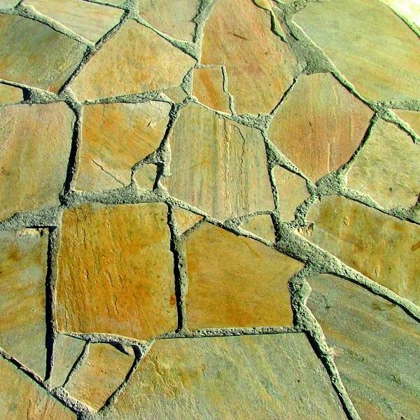 Geschützte Platten und Steine
