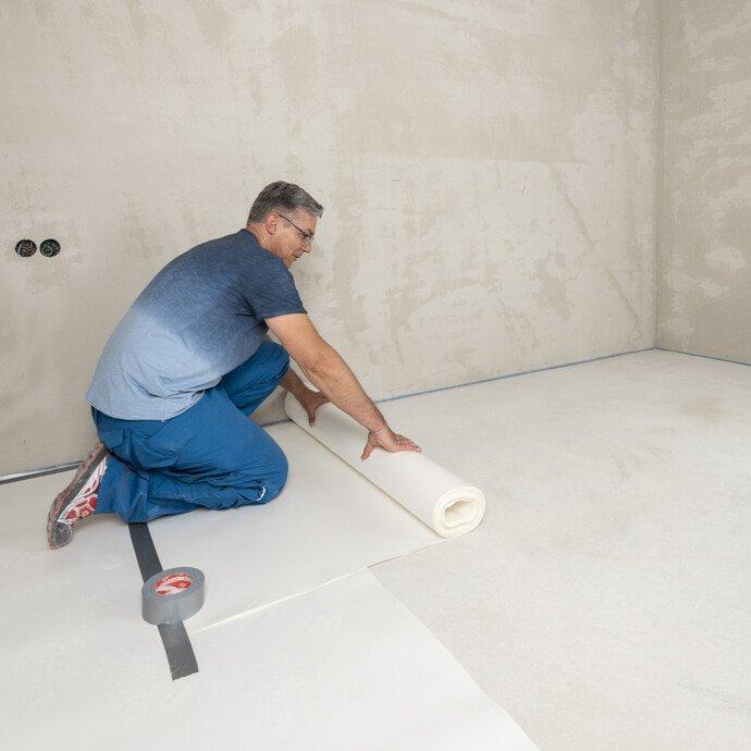Fußboden schützen