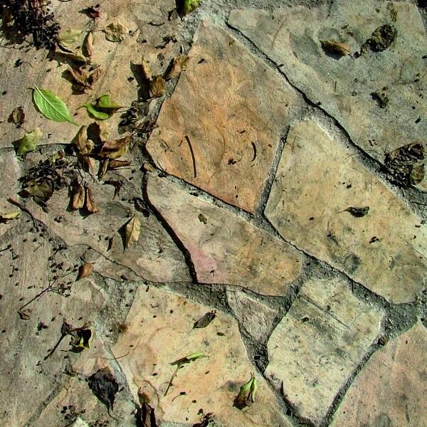 Ungeschützte Platten und Steine